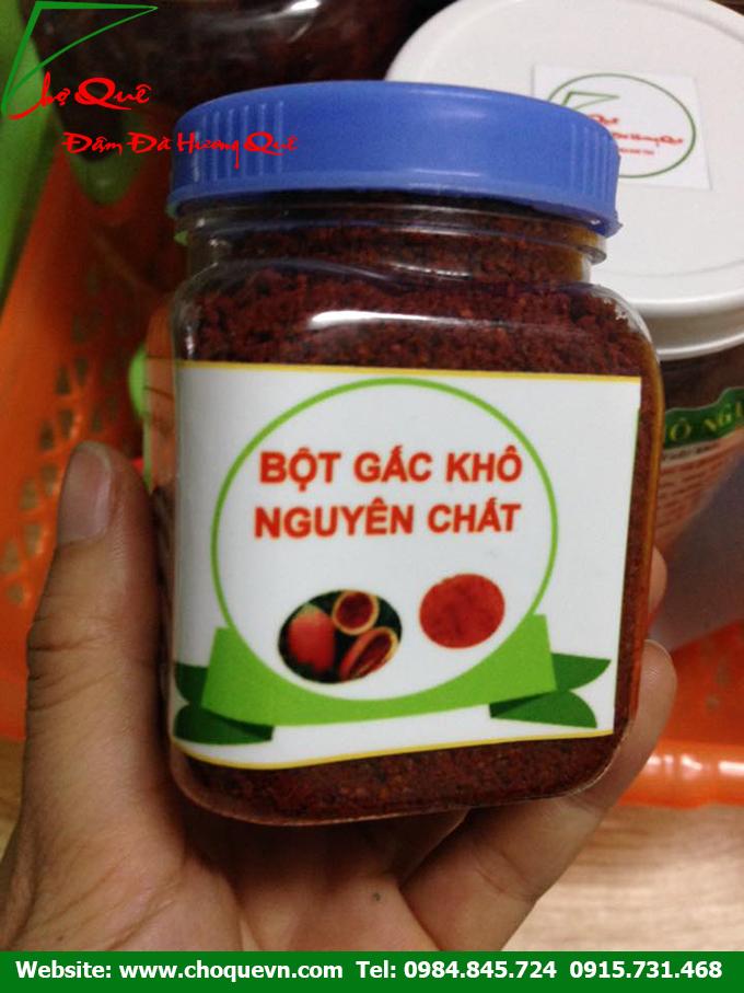 Bột gấc nguyên chất 100% tại Thanh Xuân - Hà Nội