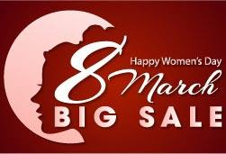 Big Sale! Khuyến mãi đặc biệt mừng 8-3